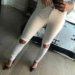 rag & bone stretchy flattering skinny jeans